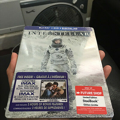 Interstellar Blu-ray Steelbook | Canadian Future Shop exclusive | NEW OOP Nolan