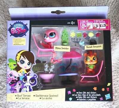 Littlest Pet Shop: Roof Terrace (Minna Swinley,russell Ferguson), La Azotea. New