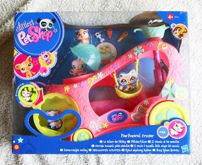 Littlest Pet Shop: Paw-Powered Cruiser (Lps, Vehiculo Mascotas). Rare, Brand New
