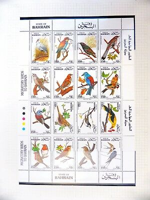 BAHRAIN 1992 Birds Sheetlet SG425a U/M NB3294