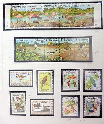 BAHAMAS Birds U/M & Fine/Used NB3339