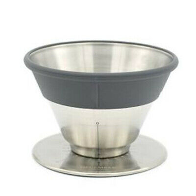 December Coffee Dripper Stainless Steel Brewing Variable type For 1 to 4 cup