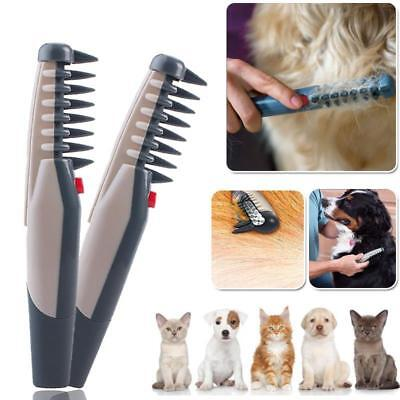 Pet Dog Cat Grooming Comb Trimmer Knot Out Tangles Tool Brushes Supplies
