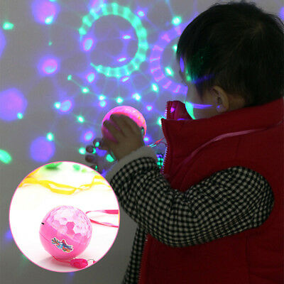 Luminous Fidget Finger Flash Ball Colorful Anti Stress Thumb Chucks Toys