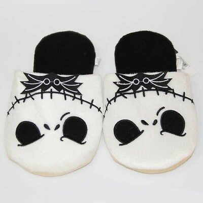 The Nightmare Before Christmas Jack Skellington Soft Plush Slippers Home Shoes