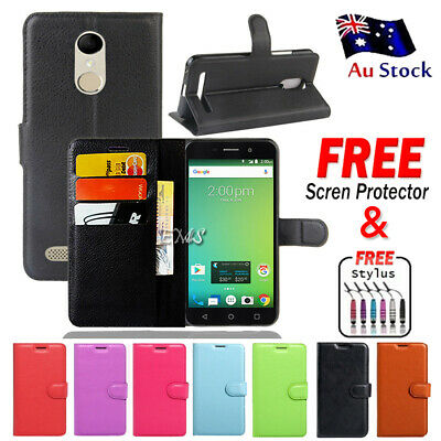 Wallet Leather Flip PU Case Cover For Telstra 4GX Premium A602 / ZTE Blade A602