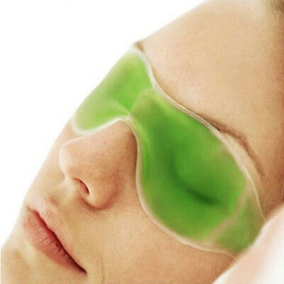 Gel Eye Mask Cold Pack Hot Heat Goggles Tired Eyes Pads Skin Care Random Color
