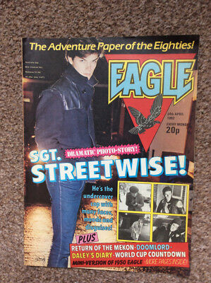 Eagle 24 April 1982 Uk comic 24/4/1982