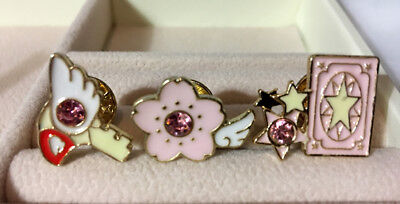 ~ * Cardcaptor Sakura Accessory Pins ( Set B ) Set of 3 * ~ US SHIP + FAST