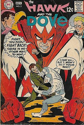 """DC (1968)THE HAWK AND THE DOVE#2 - """"Jailbreak!"""" - 3.5 VG-"""