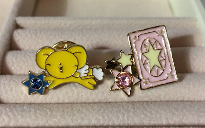 ~ * Cardcaptor Sakura Accessory Pins ( Set D ) Set of 2 * ~ US SHIP + FAST