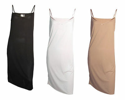 M&s Ladies Full Under Slip - Sizes 10 To 22 - Various Colours - New - Free P&p