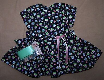 "Birthday Dress for 22"" Saucy Walker or similar Dolls - DRESS ONLY"