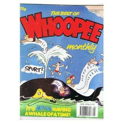The Best of Whoopee Monthly Comic No Date MBox2789 It's Animalad having a whale