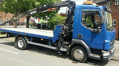 7.5 Ton Lorry with Crane For Hire