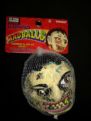 Kidrobot Horror Movie Madballs Toy Leatherface Texas Chainsaw Massacre Mad Balls