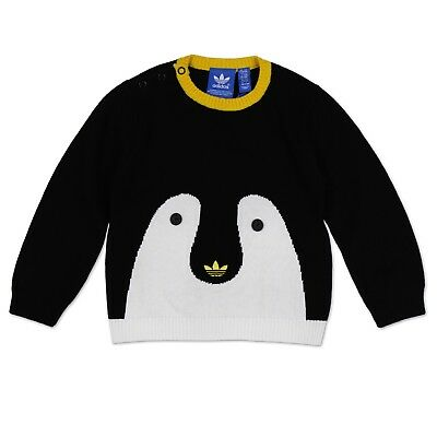 Adidas Originals Infant Penguin Sweater Children Baby Trefoil Sweatshirt G69721