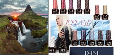 Opi Gelcolor Nouvelle Collection Iceland 2017 !!!! 15 Ml / Gel Polish