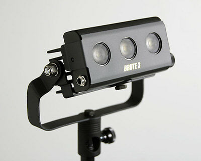 LEDZ BRUTE 3 LED Studio Photography light fixture ARRI Mole Richardson Cineo