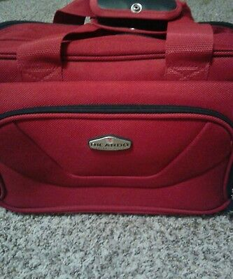 Ricardo Beverly Hills Carry On Travel Bag, Travel Suitcase. Small Luggage Bag