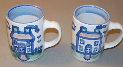 M A Hadley Mug House - lot of 2 - Excellent Condition
