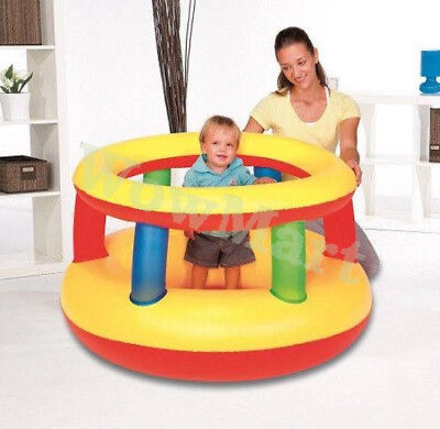 Bestway Inflatable Play Bouncer Trampoline Jumping Gym Playpen #52187