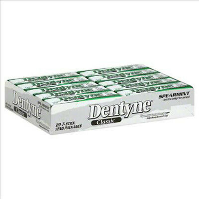 Dentyne Classic Spearmint 20 packs new and sealed - Vintage