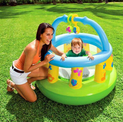 New INTEX Inflatable Baby Gym Playpen Bouncer Trampoline Jumping Castle  #48474