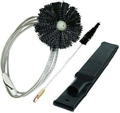 3 Pcs 10 Ft 36 In Lint Trap Vent Brush Pro Clean Dryer Lint Removal Kit NEW USA
