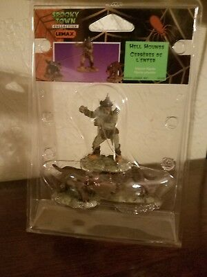 Lemax Spooky Town Hell Hounds Rare HTF