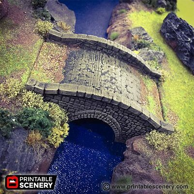 THE STONE BARN 28mm Tabletop Games Printable Scenery Dwarven Forge