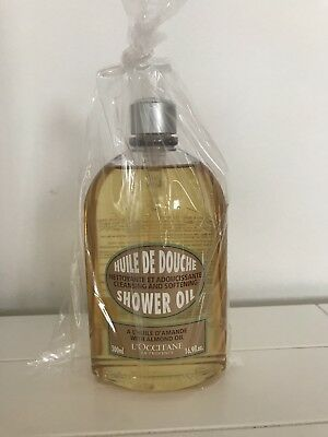 L'OCCITANE Shower Oil with Almond Oil, Supersize 500ml, Brand New & Unopened