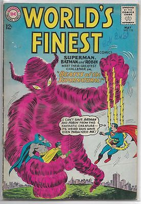 World's Finest #133 DC 1963 Silver Age Comic Book FN/FN+ (W. Aquaman Back-Up)