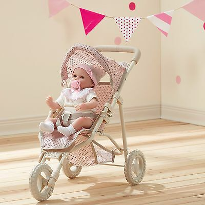 BRAND NEW TO AUSTRALIA Jogging Stroller Pram Baby Doll Olivia's Little World