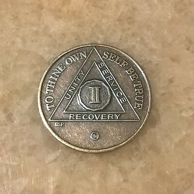 Recovery Medallion (2 Year) Alcoholics Anonymous