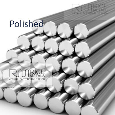 POLISHED Stainless Steel Round Bar Stainless Steel Rod Bar 304 A2 GRADE