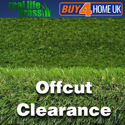 Luxury 30mm Clearance Artificial Grass Realistic Astro Garden Turf Lawn Fake