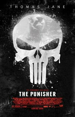 The Punisher 35mm Film Cell strip very Rare var_y