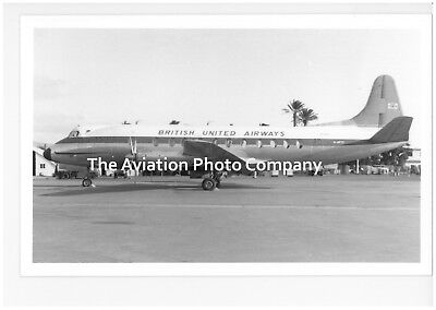 British United Vickers Viscount G-APTD Vintage Photograph