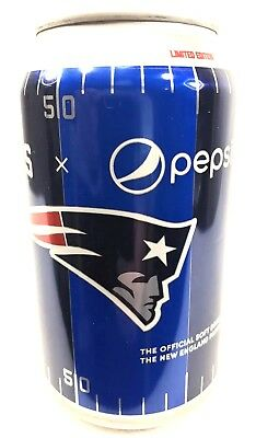 Limited Edition New England Patriots Pepsi Can Choose Your Quantity 1-6 Fast S&H