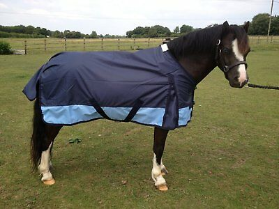 CLEARANCE SALE Heavyweight 350gsm Horse Pony Waterproof Turnout Rug now £29.99