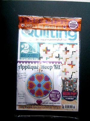Love Patchwork & Quilting Issue 18 Magazine  2015 With Free Gift (new)