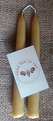BeesWax candles 100% handmade pure quality natural hand dipped from Devon UK