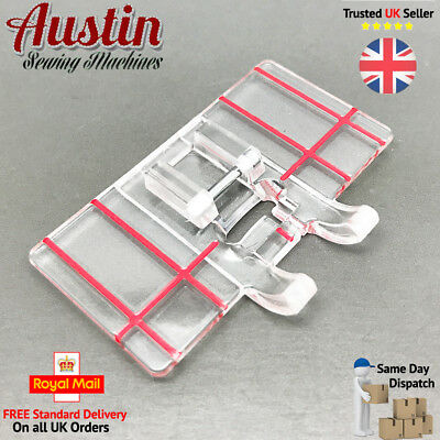 JANOME Compatible Sewing Machine BORDER GUIDE FOOT - Cat D - (9mm Stitch Width)