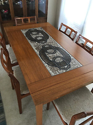 Mid-Century Danish Teak Table and Chairs - Great Condition