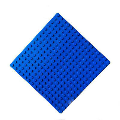 NEW 1pcs Lego compatible blue Baseplates Base Plate Building blocks bricks 16x16
