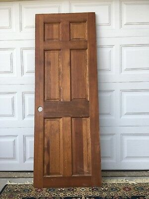 Vintage Solid Wood 6 panel Door