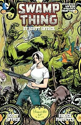 Swamp Thing By Scott Snyder Deluxe Edition (The New 52)