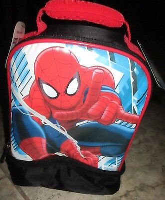 NWT Thermos Spiderman Insulated Lunch Kit FREE SHIPPING