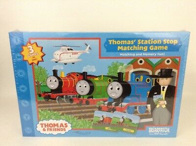 SEALED Thomas & Friends Station Stop Matching Game 3 - 1 Memory Matching Missing
